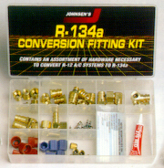 R-134a conversion fitting kit